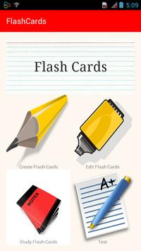 Study FlashCards poster