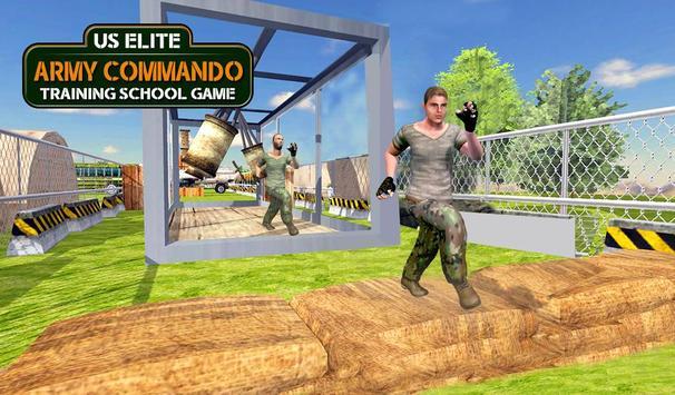 Army Commando Training School: US Army Games Free poster
