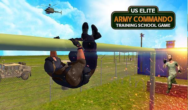 Army Commando Training School: US Army Games Free screenshot 3