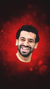 Wallpaper Mohamed Salah 4K 2018 poster