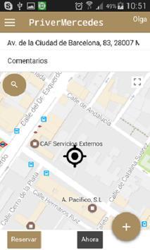 Priver Mercedes screenshot 2
