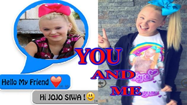 Chat with Jojo Siwa online poster