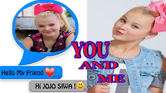 Chat with Jojo Siwa online screenshot 1