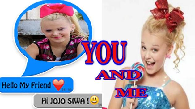 Chat with Jojo Siwa online screenshot 2