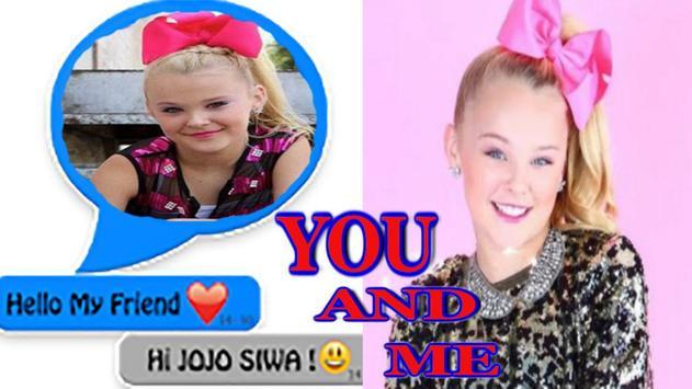 Chat with Jojo Siwa online screenshot 3