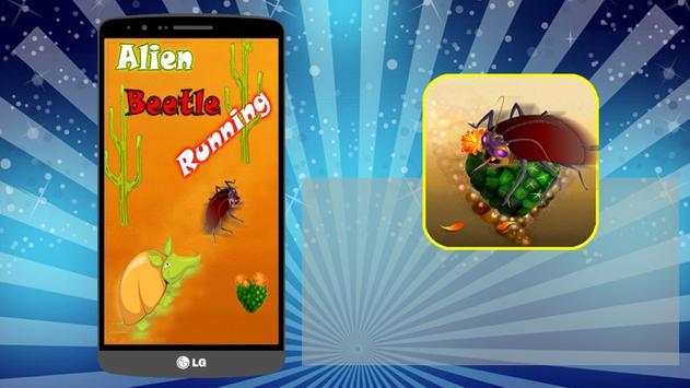 Alien Beetle Running 2016 poster
