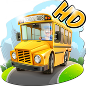City Driver : School Bus 3D icon