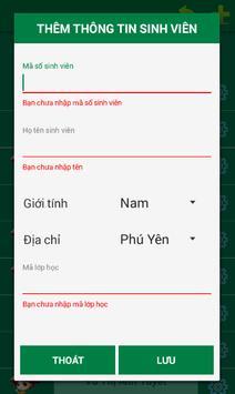QL Sinh Vien apk screenshot