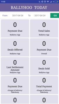 Ballyhoo Merchant App screenshot 3