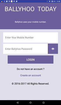 Ballyhoo Merchant App screenshot 4