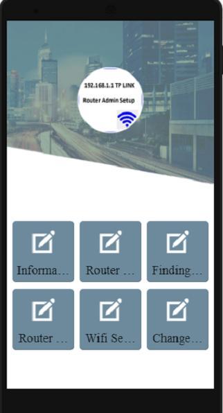 192 168 l l router admin setup - tp link for Android - APK
