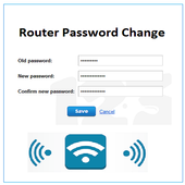 Change The Password Of The Router icon