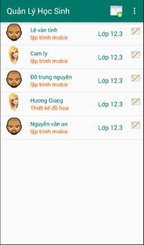 Demo Quan Ly Sinh Vien apk screenshot