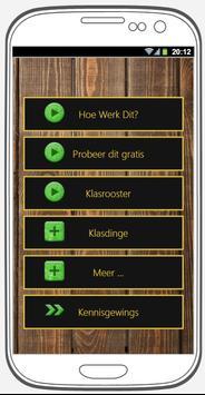 Die Ekstra Klas App poster