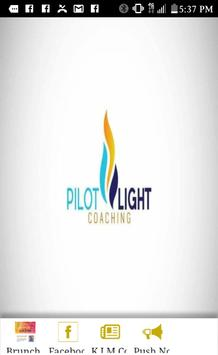 Pilot Light Events and Coaching poster