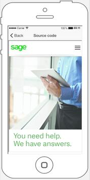 SageSupport Training apk screenshot