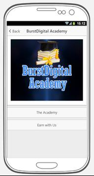 BurstDigital apk screenshot