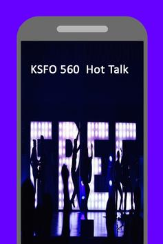 Radio for KSFO 560 Hot Talk AM San Francisco poster