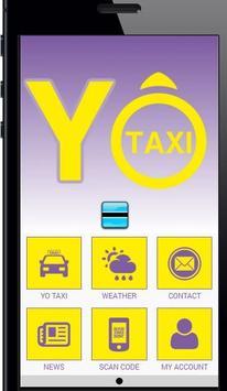 Yo Taxi BW poster