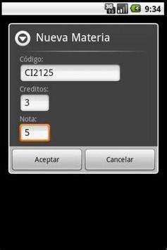 AdminNotas (Edición USB) apk screenshot
