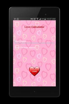 #LoveCalculator screenshot 3