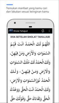 Panduan Sholat Tahajjud apk screenshot