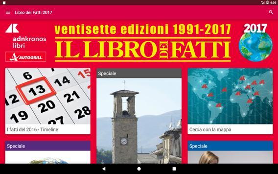 Libro dei Fatti 2017 screenshot 4