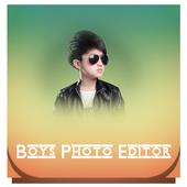Boys Stylist Photo Editor icon