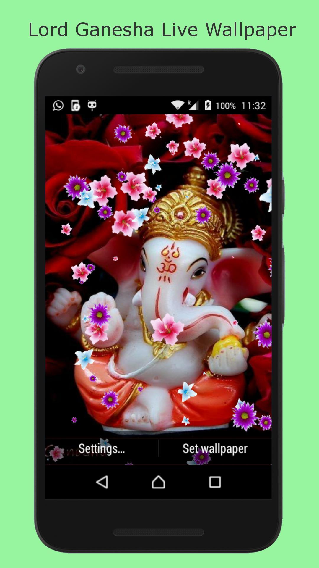 Lord Ganesha Hd Live Wallpaper Für Android Apk Herunterladen
