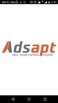 Adsapt Free Classifieds poster