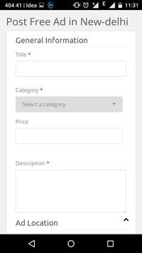 Adsapt Free Classifieds apk screenshot