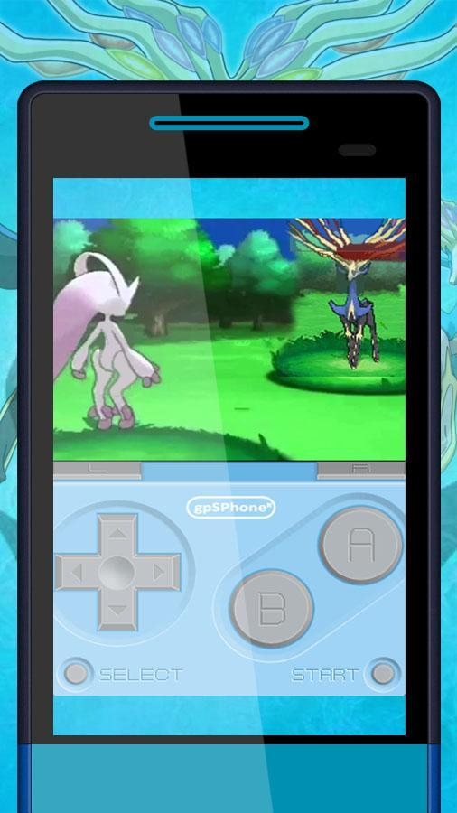 pokemon x and y apk+data