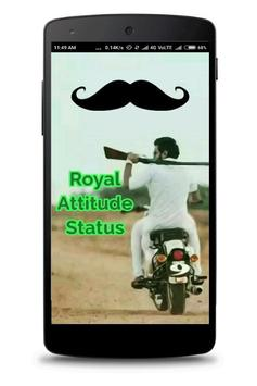 Royal Attitude Status 2018 poster