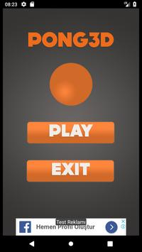 Ping Pong 3D poster