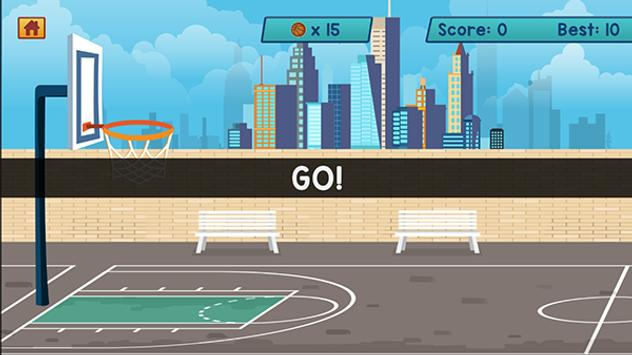 Basketball Shots Mania HD apk screenshot