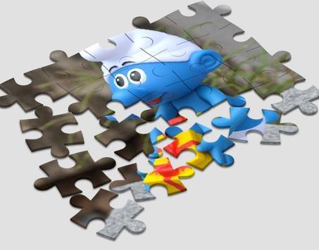 Jigsaw for Smurf screenshot 3