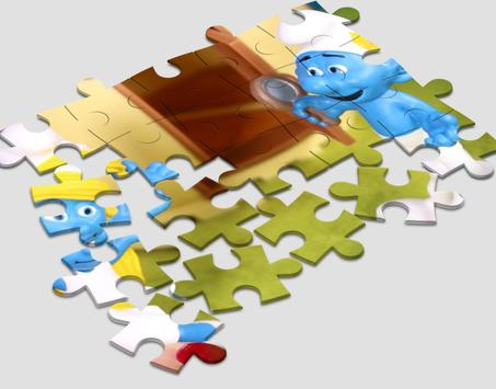 Jigsaw for Smurf screenshot 1