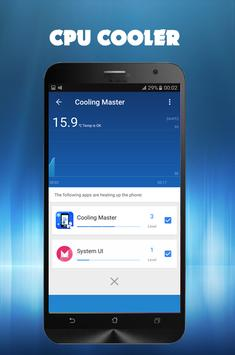 CPU Cooler Master apk screenshot