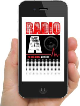 RADIO ADROGUE 105.3 FM poster
