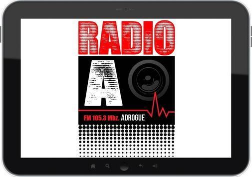 RADIO ADROGUE 105.3 FM apk screenshot