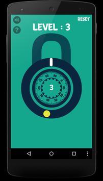 Open The Lock - Next level apk screenshot