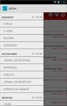 Favorit - Bookmark navigator screenshot 1