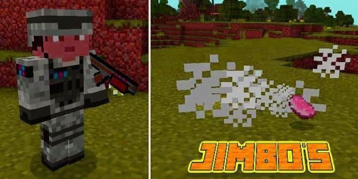 Add-on  Jimbo Weapons MCPE poster