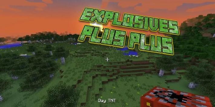 Explosives Plus Plus Minecraft poster