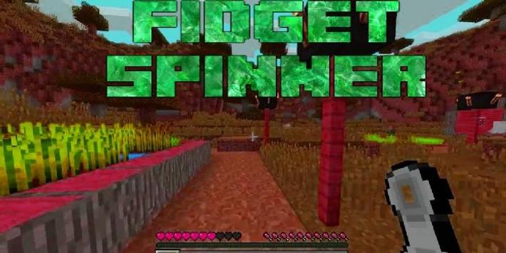 Fidget Spinner Minecraft poster
