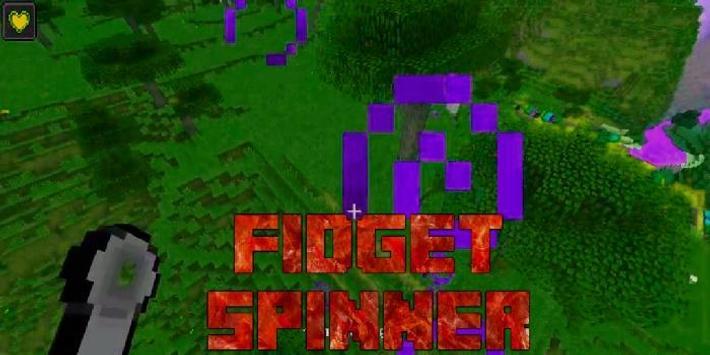 Fidget Spinner Minecraft apk screenshot