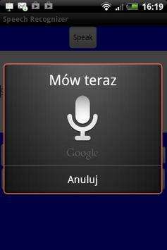 Super Speech Recognizer screenshot 1