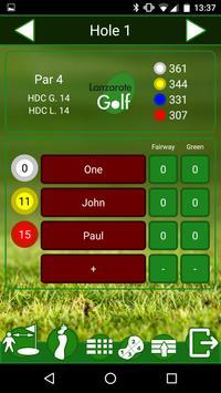 Lanzarote Golf apk screenshot