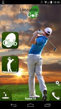 Lanzarote Golf poster