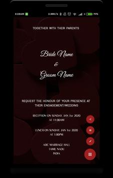 Invitation apk screenshot